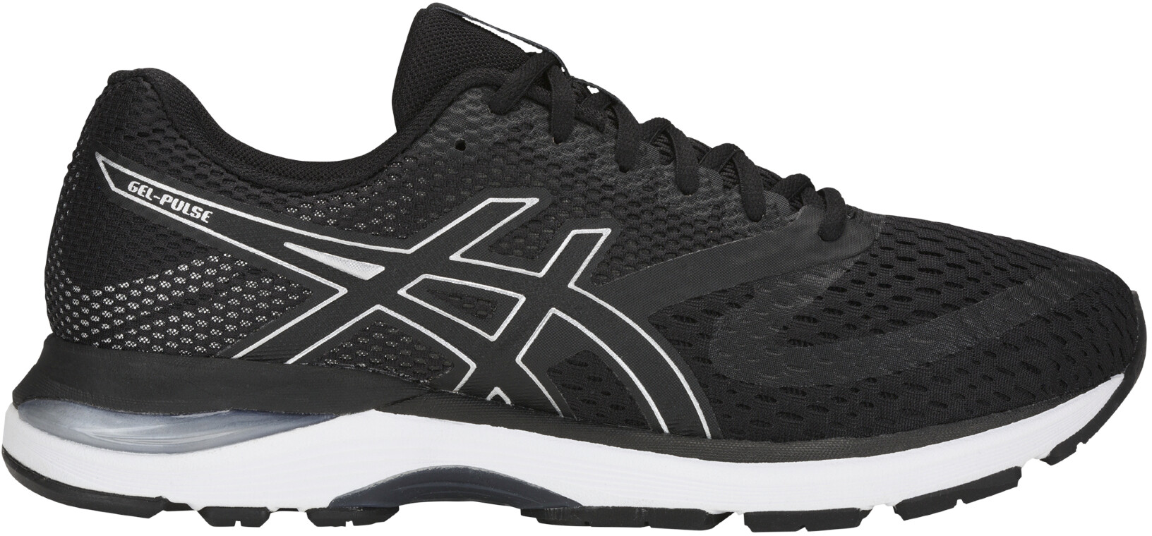 2c036a3cce10 asics Gel-Pulse 10 - Chaussures running Homme - noir argent ...